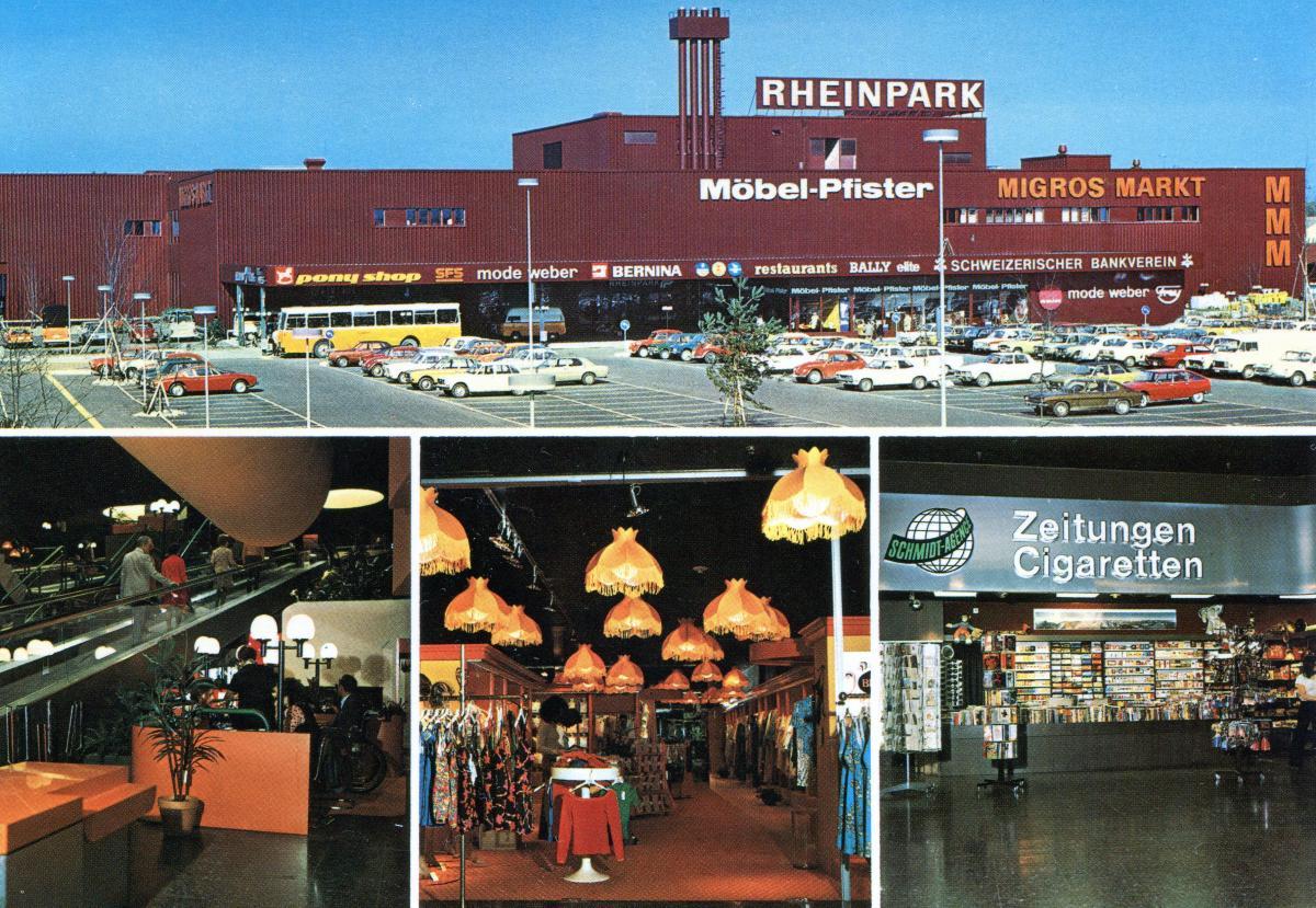 Rheinpark um 1978