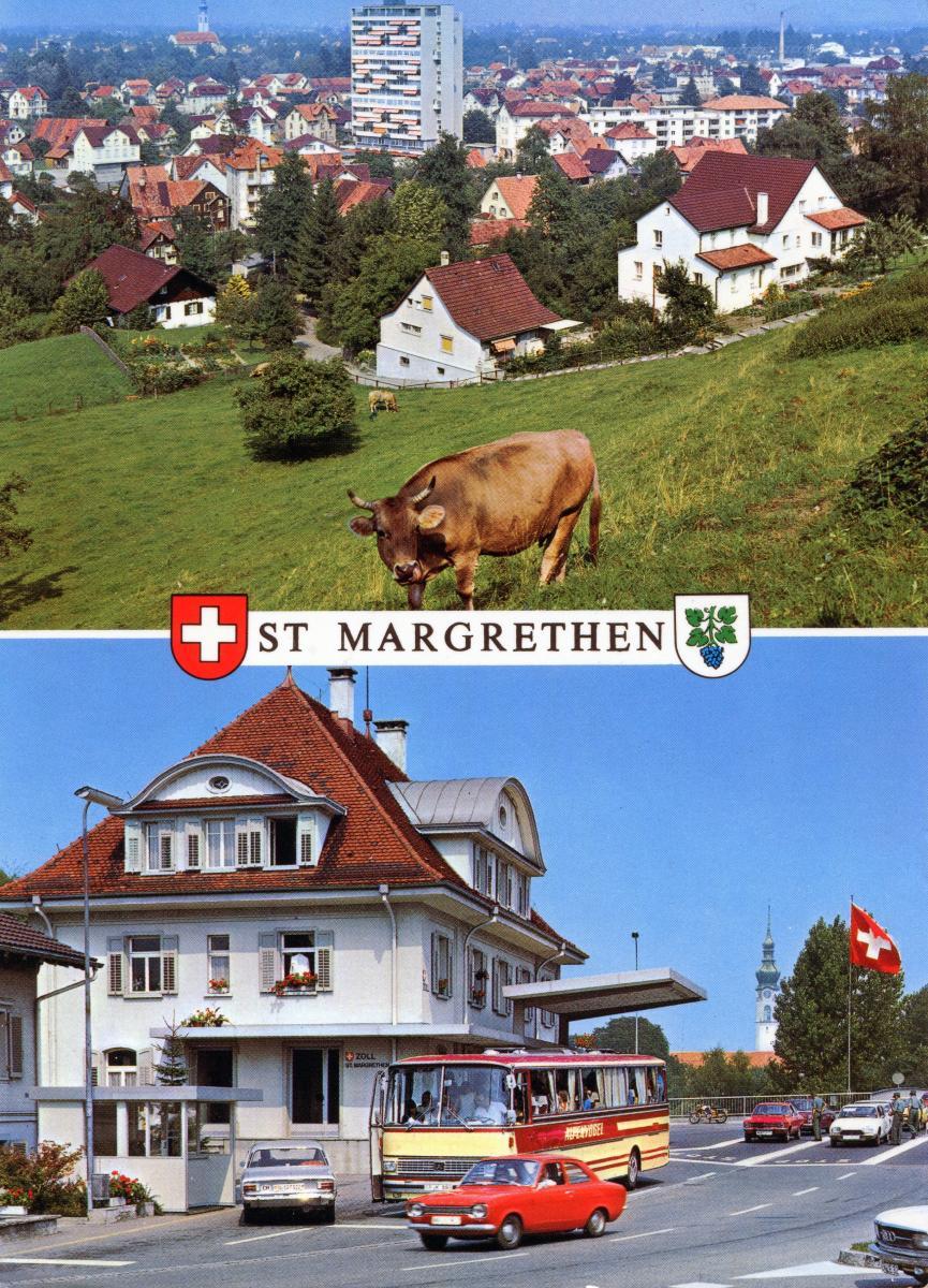 Zoll St.Margrethen
