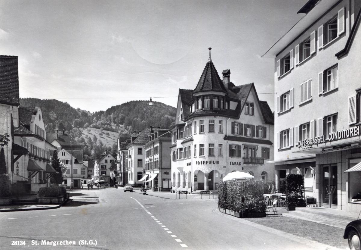 St.Margrethen um 1965