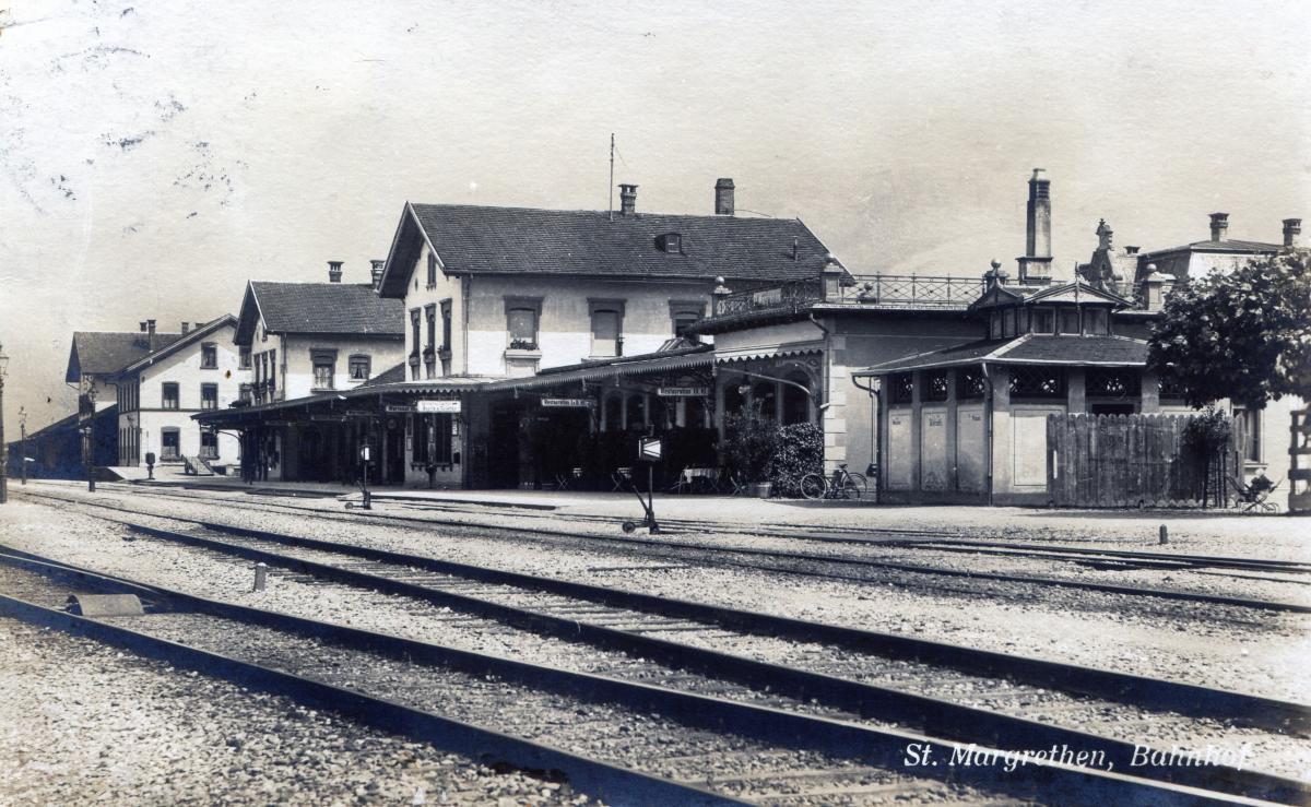 St.Margrethen Bahnhof