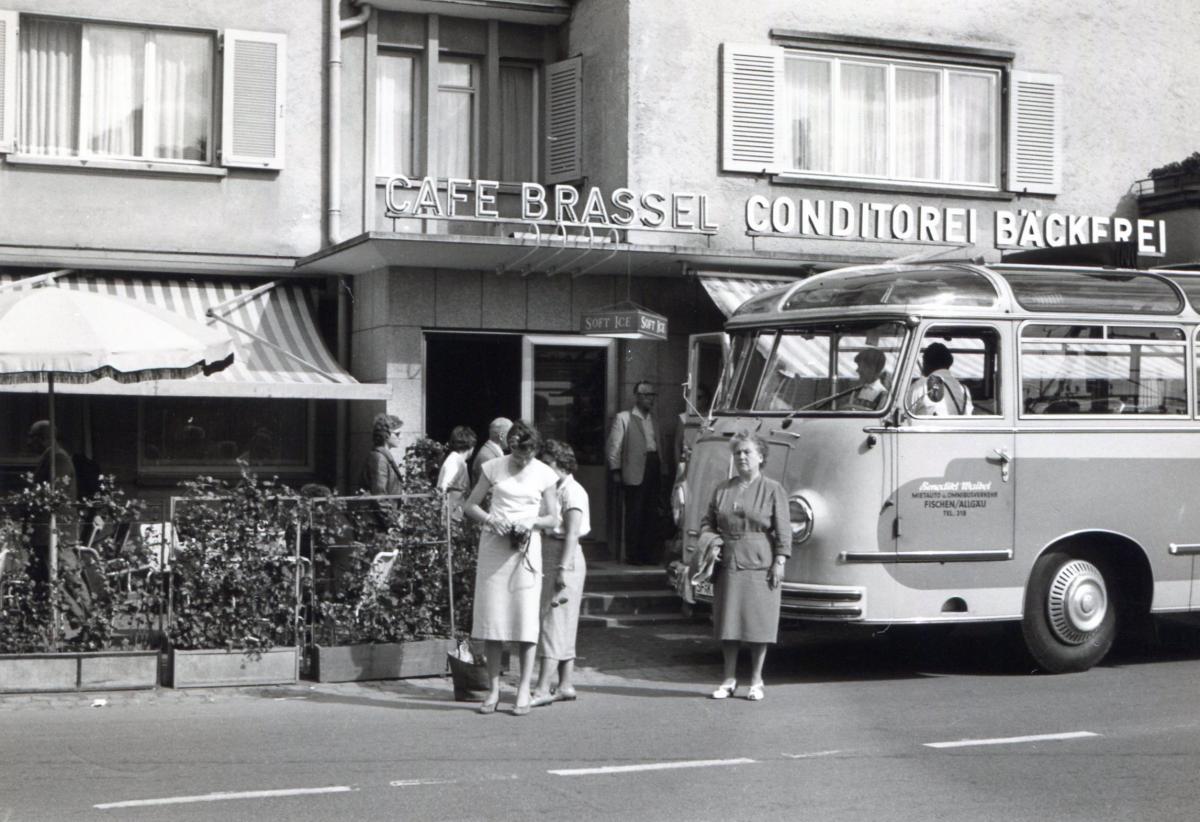 Kaffeepause im Cafe Brassel