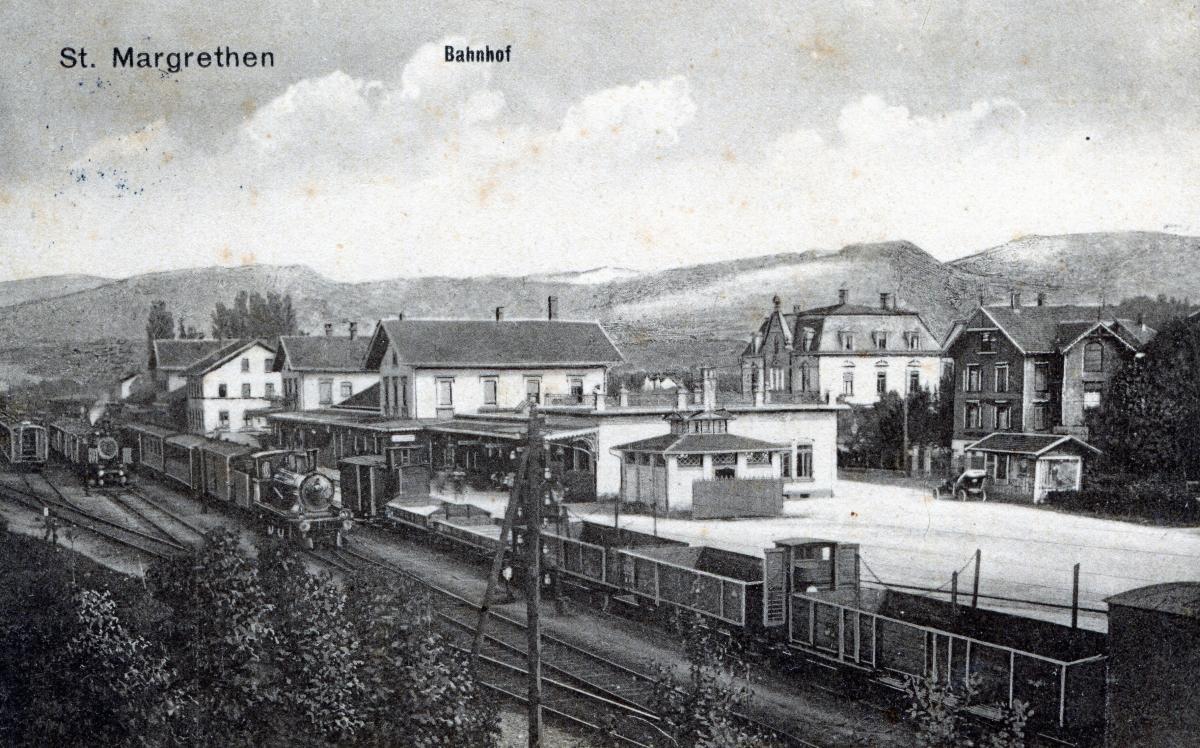 Bahnhof St.Margrethen