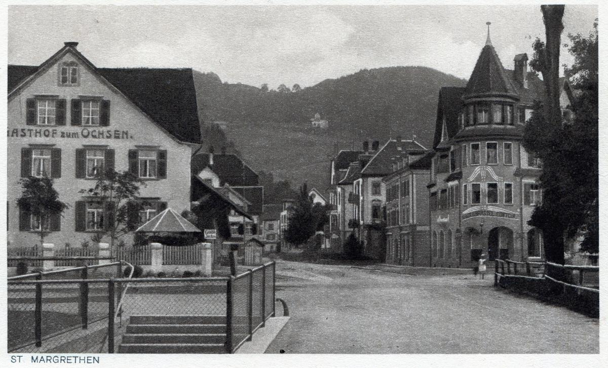 Dorfkern um 1920