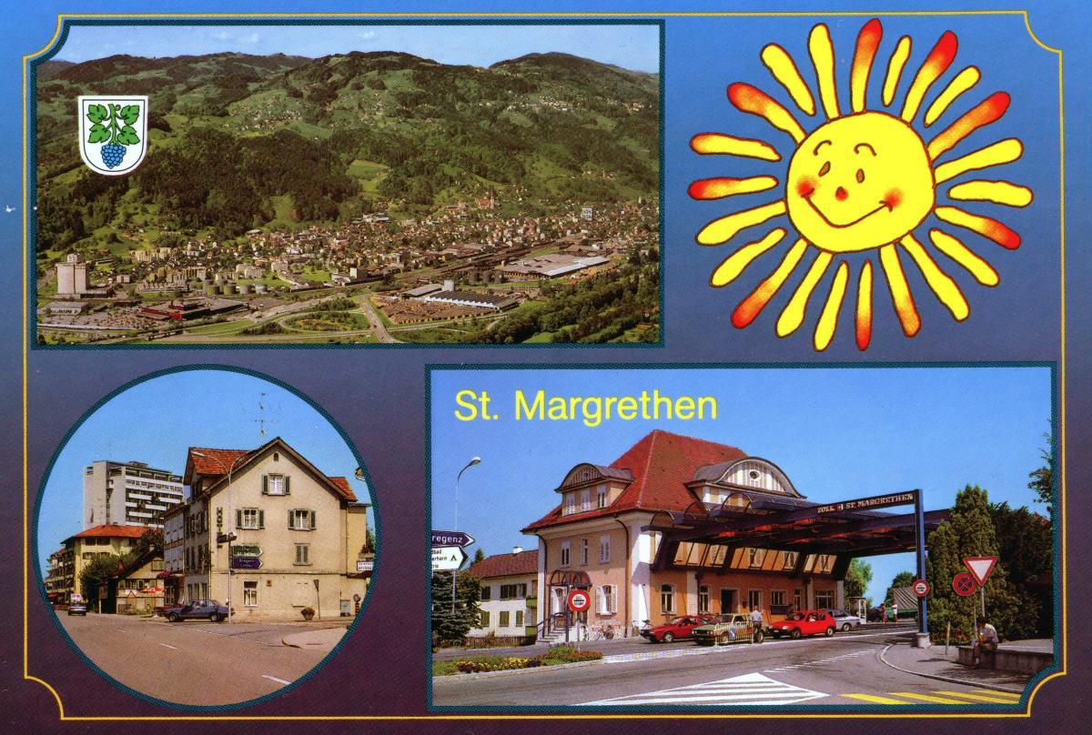 Gruss aus St.Margrethen