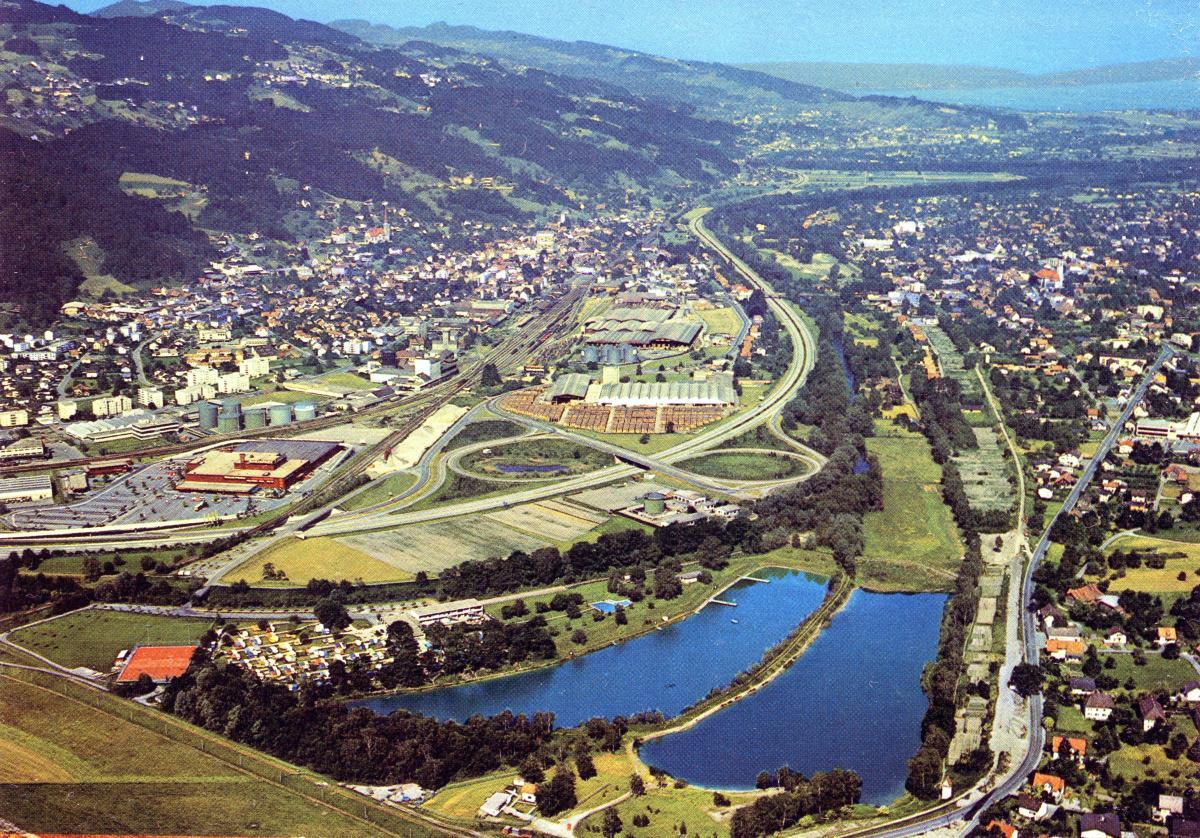 Flugbild Bruggerhorn