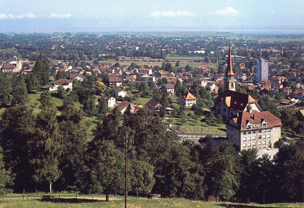 St.Margrethen mit Bodensee