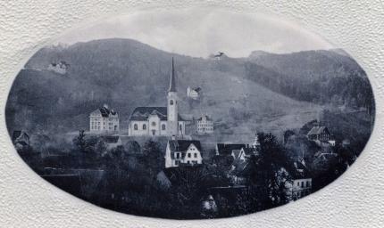 Richtung Walzenhausen