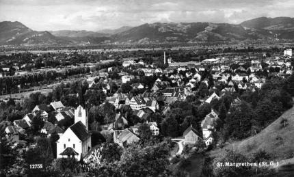 Blick vom Unterdorf