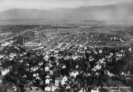 St.Margrethen Luftbild